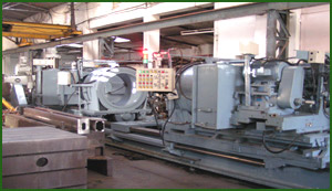 M & B Graphite roll milling machine