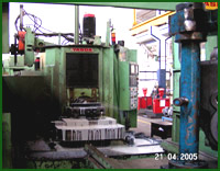 """YASADA"" Horizontal machining centre."